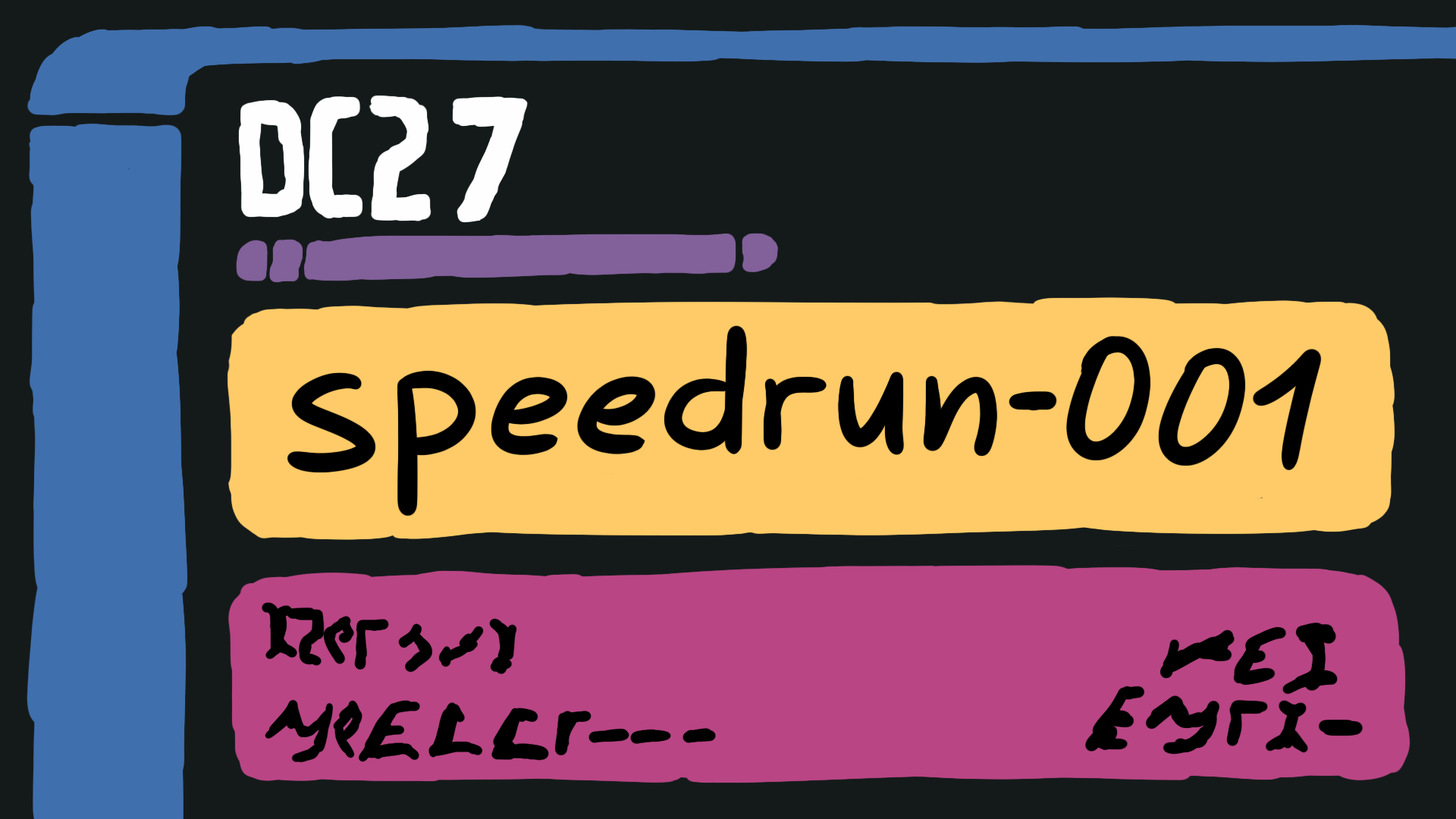 Speedrun Hacking Buffer Overflow